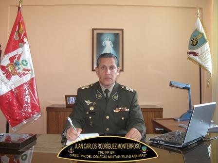 """MENSAJE DEL CORONEL DIRECTOR DEL COLEGIO MILITAR """"ELÍAS AGUIRRE"""""""