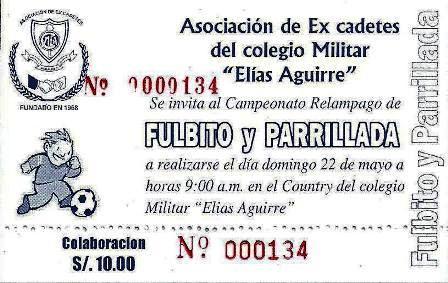 FULBITO Y PARRILLADA AGUIRREÑA.